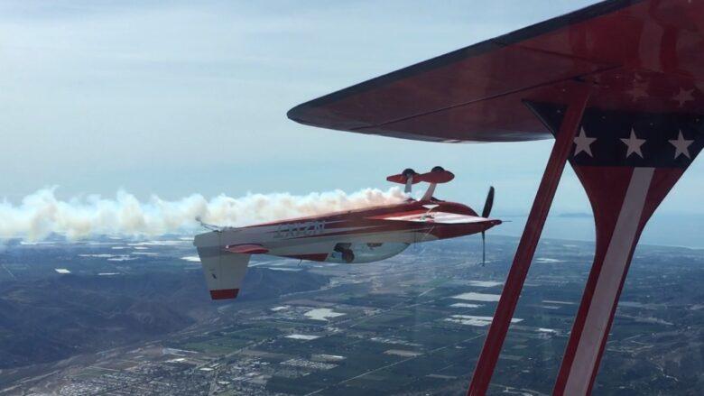 Aviation - Tony Moradian - flying upside down